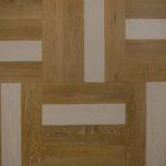 Zdjęcie z góry cztery klepki lakier